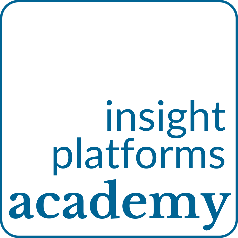 Dark Blue Outline - Insight Platforms Academy Logo