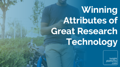 Winning Attributes of Great Research Technology