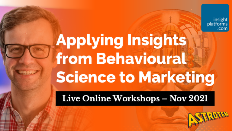 Behavioural Science for Marketing with Richard Shotton - Insight Platforms
